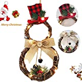 asdomo flower hoop wreath with led artificial berry flower wreaths with light christmas hanging