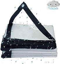 QI-CHE-YI transparant dekzeil, regendicht plastic waterdichte dekzeil vrachtwagen, tentoonstelling, camping, viszeil