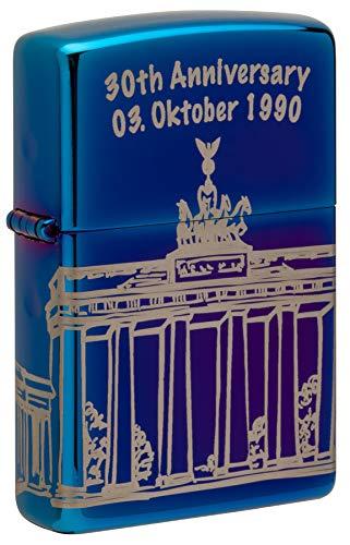 Zippo 30th Anniversary 03. Oct 1990 Berlin Editon Octubre xx/300-Mechero, latón, Zafiro,...