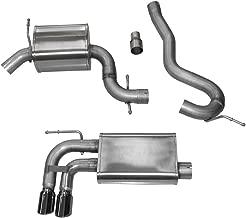 Corsa 14587BLK Cat Back Exhaust (VW Golf GTI MK5 2.0T FSI/TSI, 2.5L Rabbit)