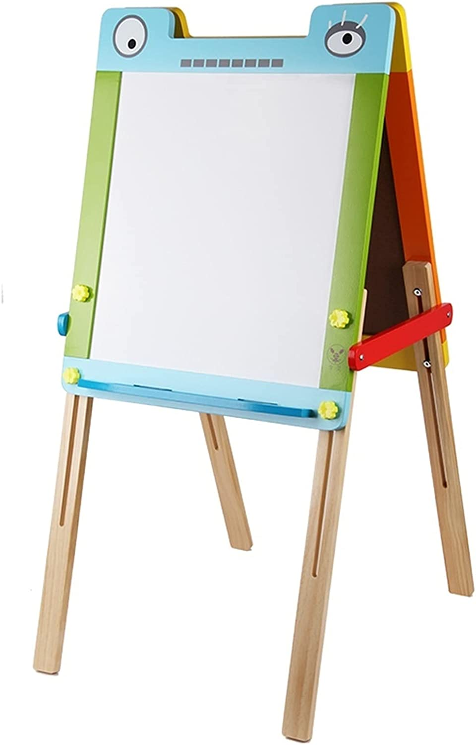 LICHUAN Wooden Max 55% OFF Art Kids Easel Sided Double Height Cha Adjustable Now free shipping