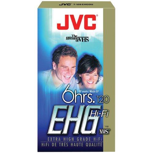 For Sale! JVC T-120EHGDU Extra High Grade VHS Videocassette