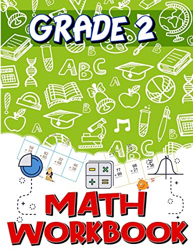 Grade 2 Math Workbook: Addition & Subtraction Worksheets, Easy and Fun Math...