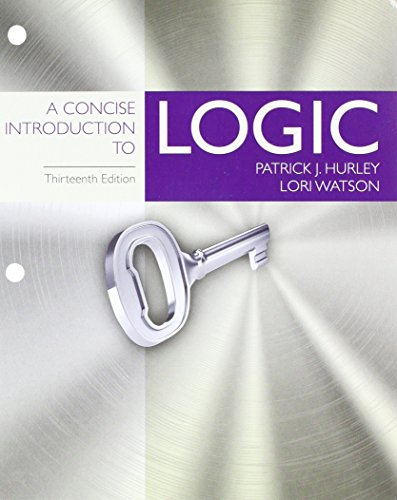 Bundle: A Concise Introduction to Logic, Loose-Leaf Version, 13th + LMS Integrated MindTap Philosophy, 1 term (6 months) Printed Access Card