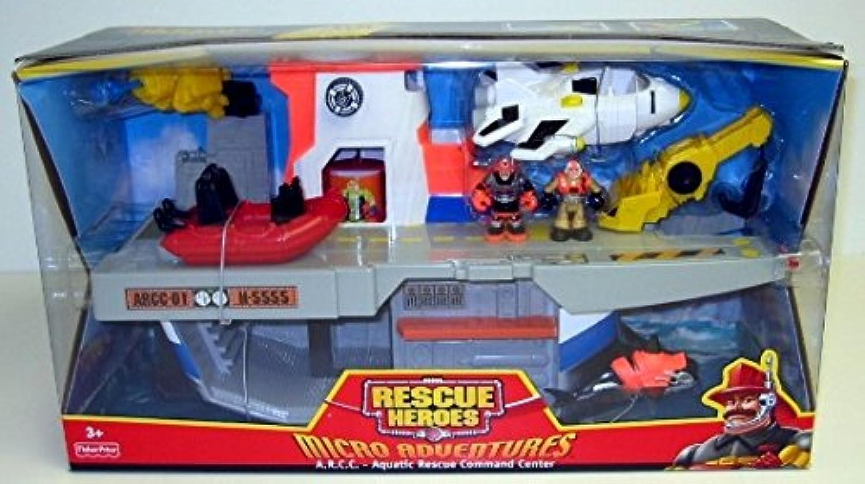 Rescue Heroes Micro Adventures A.R.C.C. (Aquatic Rescue Command Center)