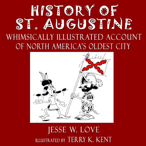 History of St. Augustine Florida audiobook cover art