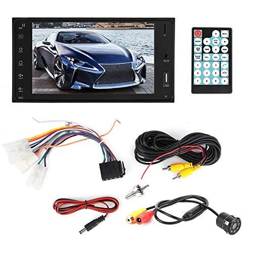 KIMISS Auto Multimedia Spieler , 7 im Auto MP5 2 Lärm GPS, das Bluetooth Auto MP5 Video mit wasserdichter Kamera 8LEDs aufhebt