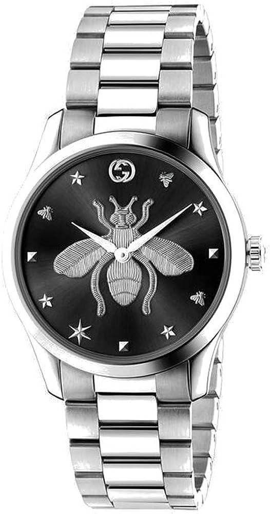 Gucci g-timeless  orologio  in acciaio inox YA1264136