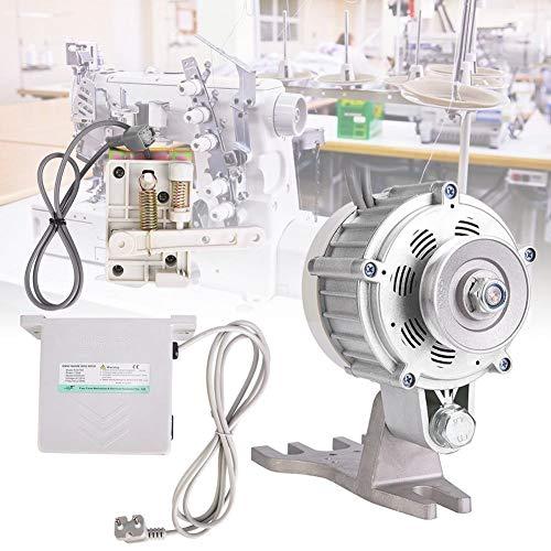 Caredy 4.5N · M 550W 0~5500rpm Motor de máquina de Coser Industrial, Máquina de Coser de Tipo Dividido Servomotor silencioso sin escobillas de Ahorro de energía para Industrial(UE)