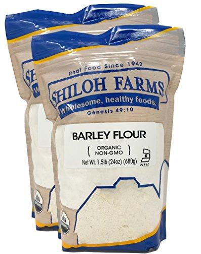 Shiloh Farms - Organic Barley Flour, 2 Packs - 24 Ounce each