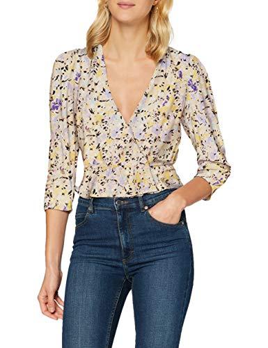 Pimkie Damen PHW20 SSAGATHA Bluse, Orange, XS