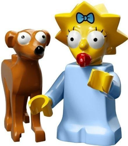 Lego Simpsons Series 2 Pick Your Figure 71009 (Maggie with Santa's Little Helper) by LEGO