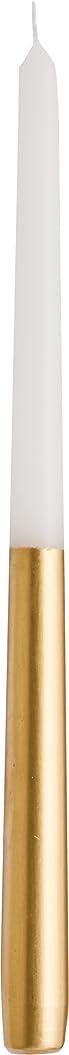 作ります思慮深いカブカメヤマキャンドルハウス ツートンテーパーキャンドル 高さ30.5cm ゴールド
