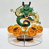 CXNY Figuras de acción Dragon Ball Z Shenron PVC S Modelo Toy Dragon Ball Super Shenlong Figurita Crystal Balls Esferas del Dragon