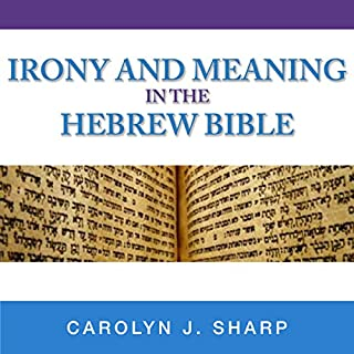 Irony and Meaning in the Hebrew Bible     Indiana Studies in Biblical Literature              By:                                                                                                                                 Carolyn J. Sharp                               Narrated by:                                                                                                                                 Jason Zenobia                      Length: 13 hrs and 39 mins     3 ratings     Overall 4.3