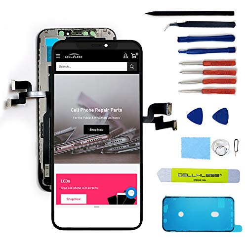 Cell4less iPhone Xs Aftermarket LCD Replacement TFT Glass 5.8