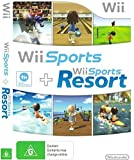 Nintendo Wii Sports / Wii Sports Resort - 2 Games on 1 Disc Bundle Version (Renewed)