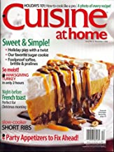 Cuisine At Home, December 2008 Issue