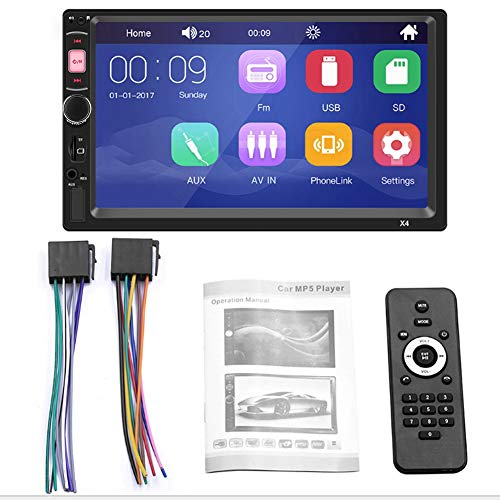 Fydun CarAudio Player 7 pollici Touchscreen Auto Audio Player MP5 lettore Bluetooth Car Audio per Android/IOS