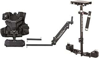 FLOWCAM HD-2000 Camera Handheld Steadycam Stabilizer System with Flowcam Arm Vest and Metal Quick Release Plate for DSLR V...