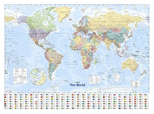 Landkarten Poster carte du monde