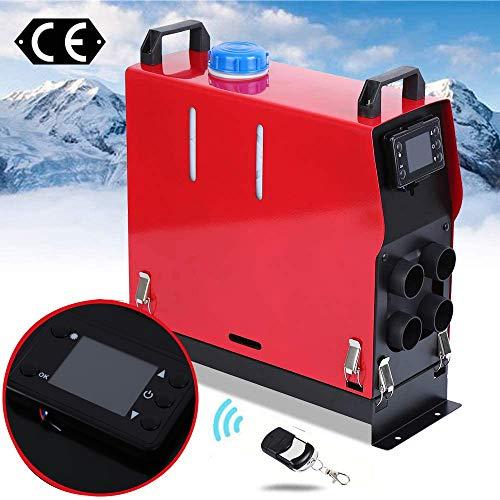 Ambienceo Calentador de Aire Diesel 12V 5KW Display LCD Control Remoto Air Diesel Heater Calentador...