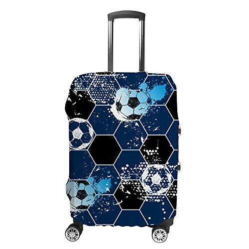 Ruchen - Funda para Maleta con diseño de Panal de Abeja, Color Azul