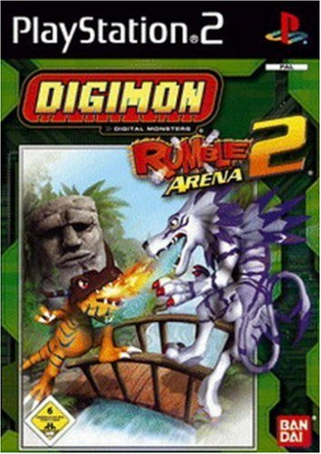 Digimon Rumble Arena 2-(Ps2)