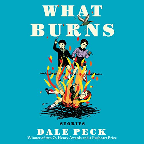 What Burns audiobook cover art