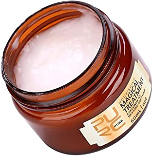 60ml Hair Mask, Hair Treatment Professional Magic Hair Mask Nourishing Treatment Soft Smooth Repair Damage damaged and dry hair lsmaa