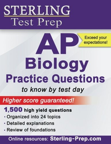 Image OfSterling AP Biology Practice Questions: High Yield AP Biology Questions