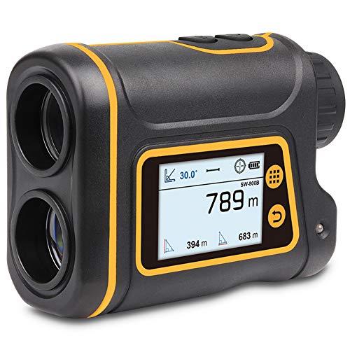 KOWE Golf Entfernungsmesser, LCD-Bildschirm-Teleskop-Entfernungsmesser, Optische Linse Mit Hoher Vergrößerung Und Mehrere Geeignete Messmodi,800M