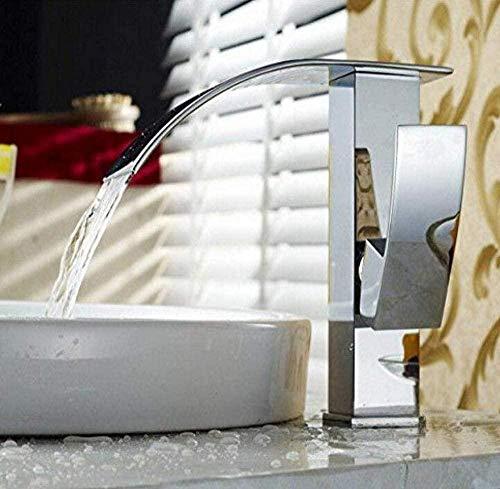 Cocina Retro Grifo que se eleva sobre el agua Mezclador Cascada Cascada Grifo del lavabo Cocina Lavabo Contador Lavabo Grifo de cocina de mezcla única