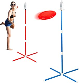 ROPODA Flying Disc, Frisbee Game Set, Disc Toss Game for Beach,Lawn, Backyard or Park