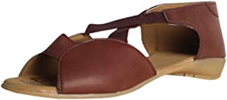 Women's Officewear Leather Fasion Sandal Red Color (10)