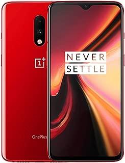 OnePlus 7 GM1900 256GB, 6.41 inches, Dual SIM, 8GB, Dual Main Camera 48MP+5MP, GSM Unlocked International Model, No Warranty (Red)