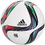 adidas Offizieller Spielball Conext 15 Balón de fútbol, Hombre, Blanco, 5