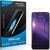 SWIDO Schutzfolie für Motorola One Macro [2 Stück] Kristall-Klar, Hoher Festigkeitgrad, Schutz vor Öl, Staub & Kratzer/Glasfolie, Bildschirmschutz, Bildschirmschutzfolie, Panzerglas-Folie