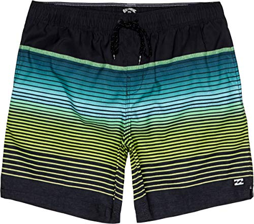 BILLABONG All Day Stripe LB Shorts, Hombre, Black, S