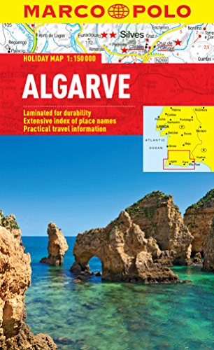 Algarve Marco Polo Holiday Map