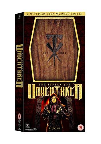 WWE: Undertaker - The Streak 21-1 [Limited Edition Wooden Coffin Boxset] [DVD] [Edizione: Regno Unito]