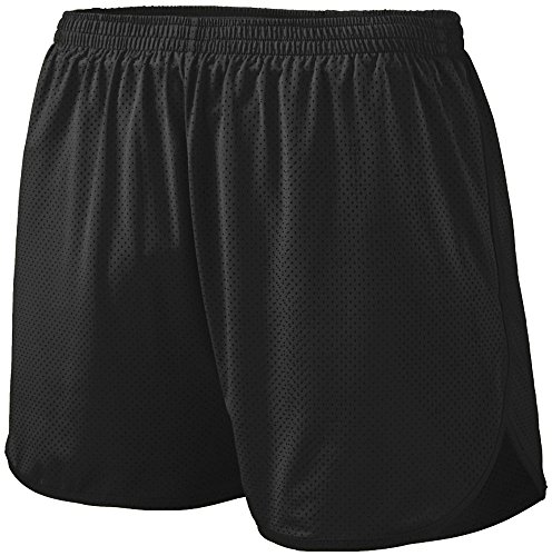 Augusta Sportswear Boys' Solid Split Short L Black