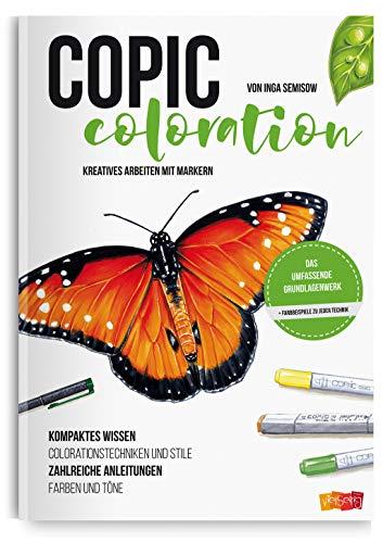 Copic Coloration: Kreatives Arbeiten mit Markern