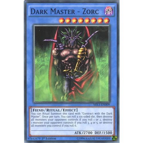 MIL1-EN009 1st Ed Dark Master - Zorc Common Card Millennium Pack Yu-Gi-Oh Single Card