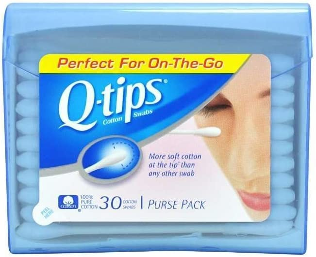 Q Tips shipfree Cotton Swabs 30 ct Travel New color Size Purse of Quantity 5