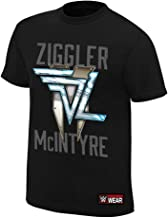 WWE AUTHENTIC WEAR Dolph Ziggler & Drew McIntyre This is The Show T-Shirt Black Large