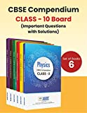 ALLEN Kota- CBSE Compendium for Class-10 (Set of 6 Books) Physics, Chemistry, Biology, Mathematics, English & Social Science (Reduced Syllabus for 2021)