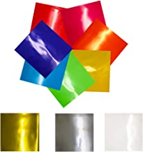 metallic cellophane sheets