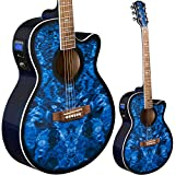 Lindo LDG-BS Elektro-Akustische Gitarre mit Vorverstärker