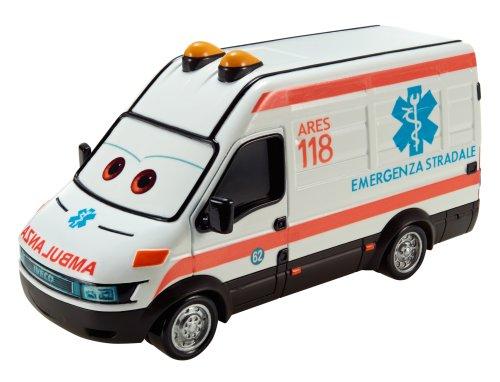 Mattel Y0539 – Disney Cars Ambulance Alfredo Deluxe